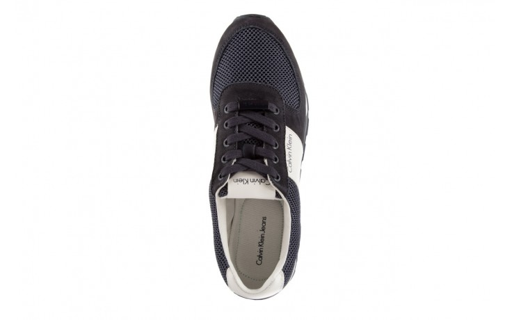 Calvin klein jeans dusty mesh washed nubuck smoot navy 4