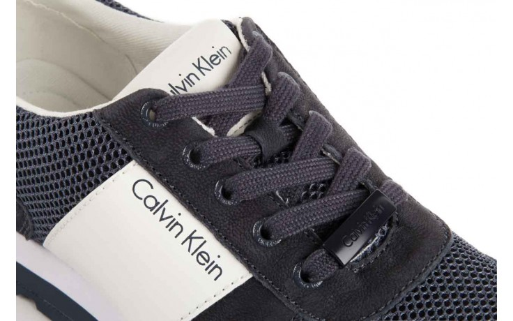Calvin klein jeans dusty mesh washed nubuck smoot navy 5