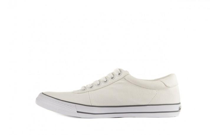 Trampki calvin klein jeans oscar canvas white, biały, materiał - calvin klein jeans - nasze marki 2