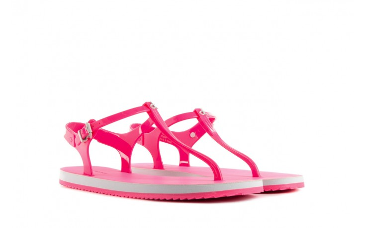 Calvin klein jeans savanna jelly fluorescent pink 1