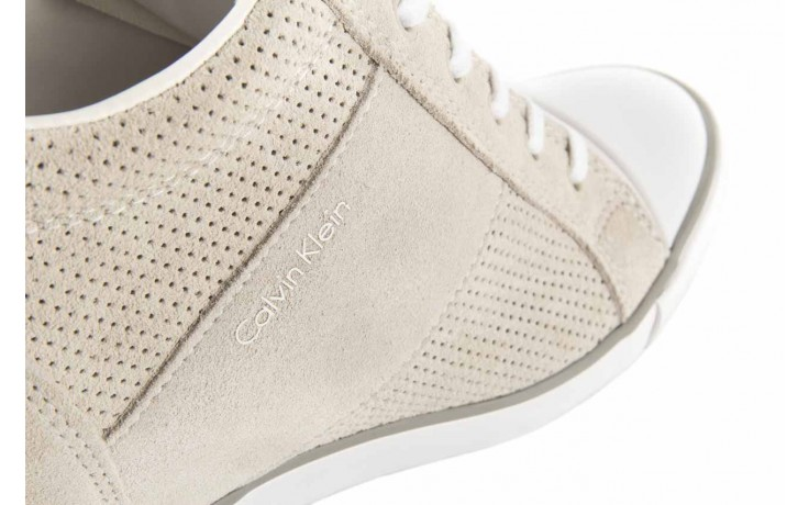 Calvin klein jeans voss perf suede smooth white - calvin klein jeans - nasze marki 5