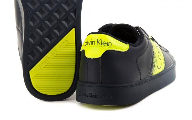 Calvin klein jeans luis matte smooth print navy yellow 4