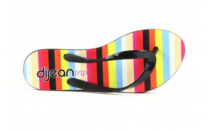Klapki dijean 256 779 black stripes, czarny, guma - piankowe - klapki - buty damskie - kobieta 5