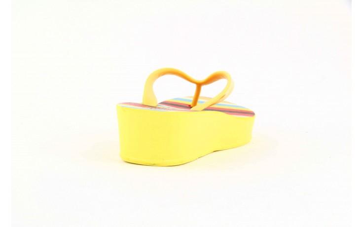 Klapki dijean 256 779 passfruit listr, żółte, guma  - dijean - nasze marki
