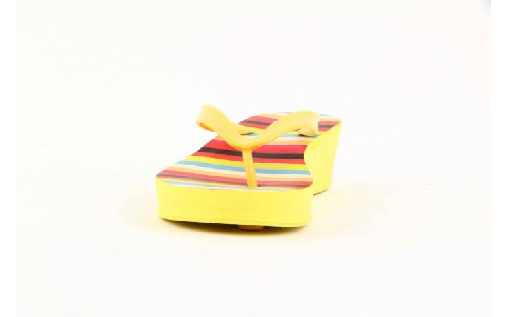 Klapki dijean 256 779 passfruit listr, żółte, guma  - dijean - nasze marki 1