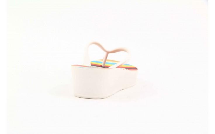 Klapki dijean 256 779 white listras, białe, guma - piankowe - klapki - buty damskie - kobieta 5