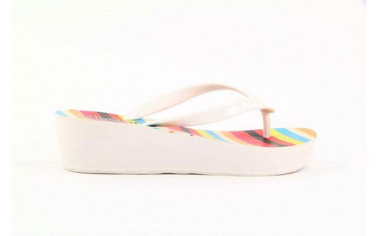 Klapki dijean 256 779 white listras, białe, guma - piankowe - klapki - buty damskie - kobieta 2