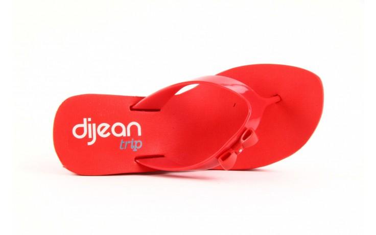 Klapki dijean 258 706 red, czerwony, guma - dijean - nasze marki 5