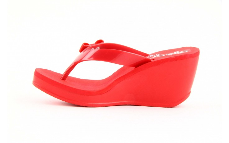 Klapki dijean 258 706 red, czerwony, guma - dijean - nasze marki 2