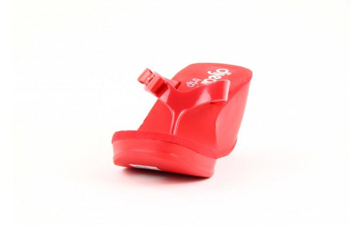 Klapki dijean 258 706 red, czerwony, guma - dijean - nasze marki 1