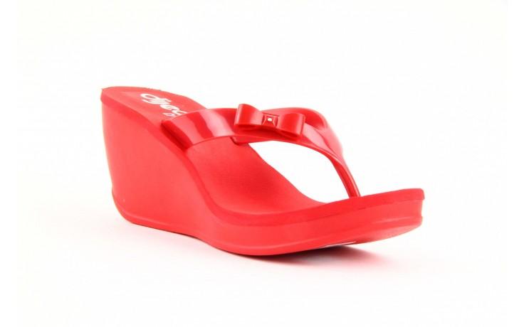Klapki dijean 258 706 red, czerwony, guma - dijean - nasze marki 3