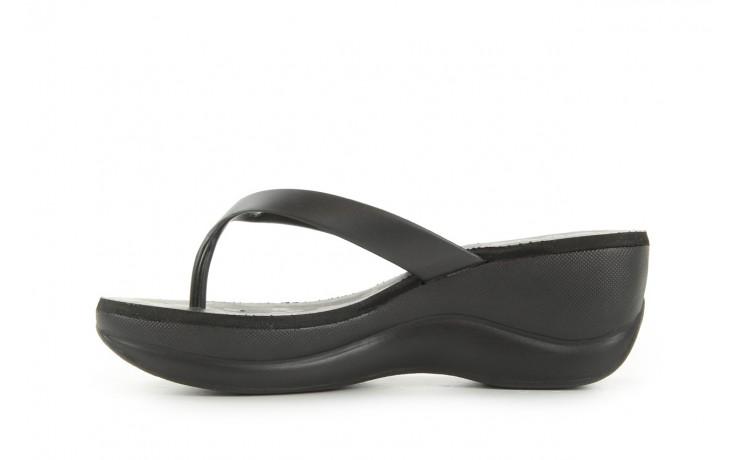 Klapki dijean 260 002 black vitral, czarny, guma - dijean - nasze marki 2