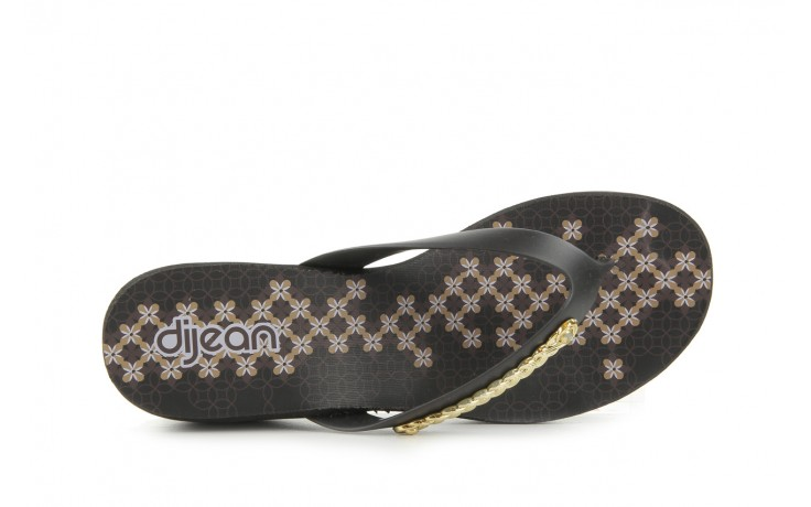Klapki dijean 260 002 black vitral, czarny, guma - dijean - nasze marki 4