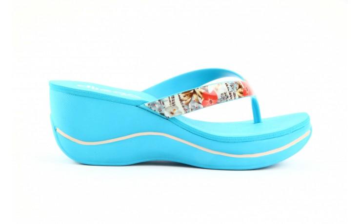 Klapki dijean 260 718 ocean, niebieski, guma - piankowe - klapki - buty damskie - kobieta 5