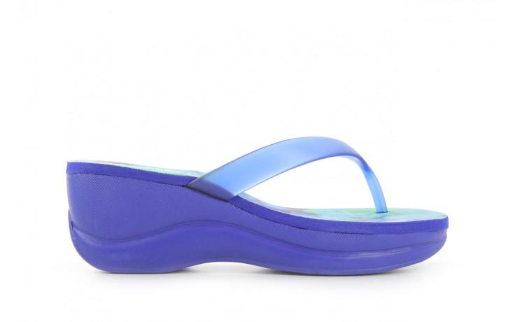 Klapki dijean 260 982 abstract blue, niebieski, guma - dijean - nasze marki