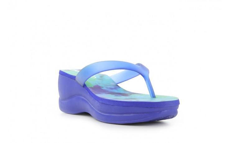 Klapki dijean 260 982 abstract blue, niebieski, guma - dijean - nasze marki 1