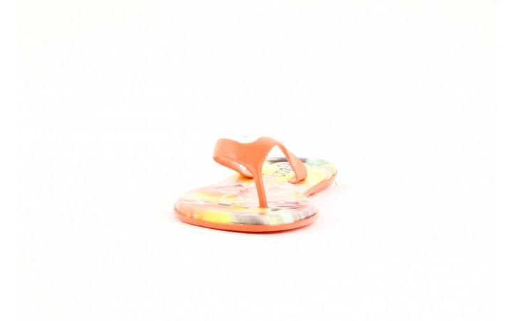 Klapki dijean 261 662 tangerine-flowr, pomarańczowy, guma 1