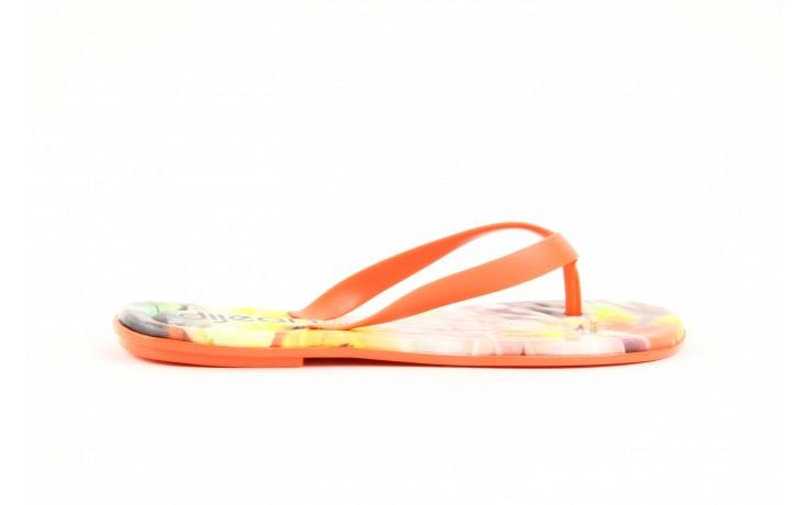 Klapki dijean 261 662 tangerine-flowr, pomarańczowy, guma 4