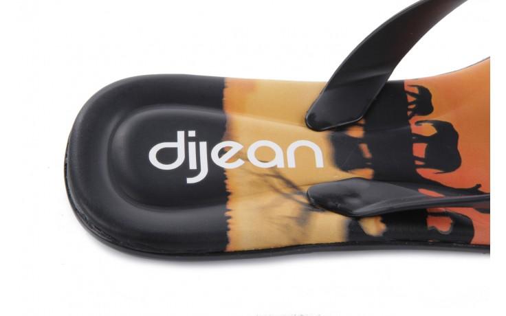 Klapki dijean 261 984 black safari, czarny, guma - dijean - nasze marki 5