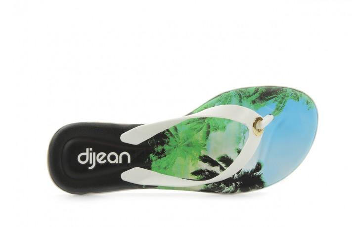 Klapki dijean 261 984 whit palm trees, biały, guma - dijean - nasze marki 4