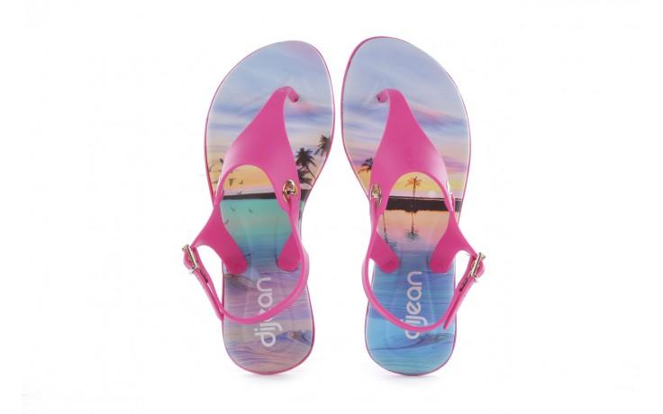 Sandały dijean 261 985 violet coast, róż, guma - dijean - nasze marki 4