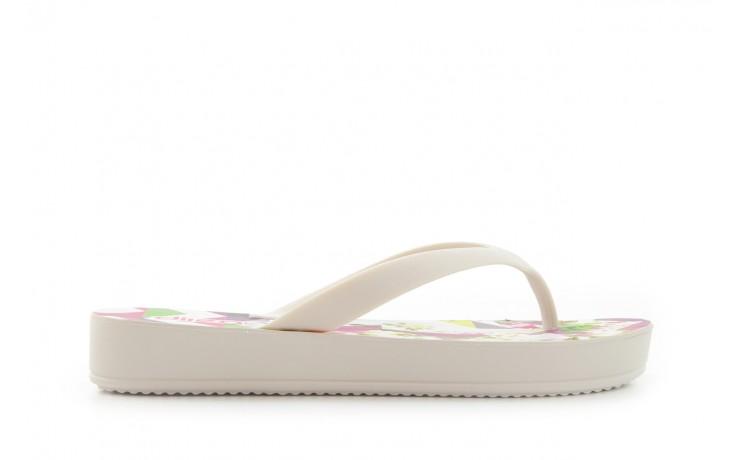 Klapki dijean 278 995 white multi, biały, guma - dijean - nasze marki