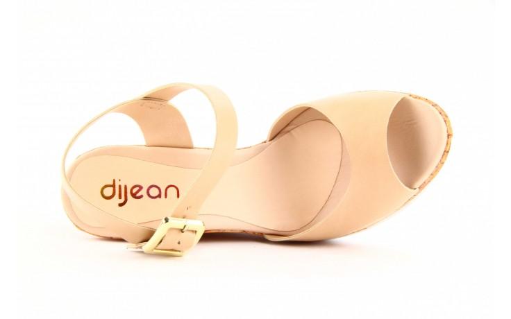 Sandały dijean 457 720 at. blush beige, beż, skóra ekologiczna  - dijean - nasze marki 2