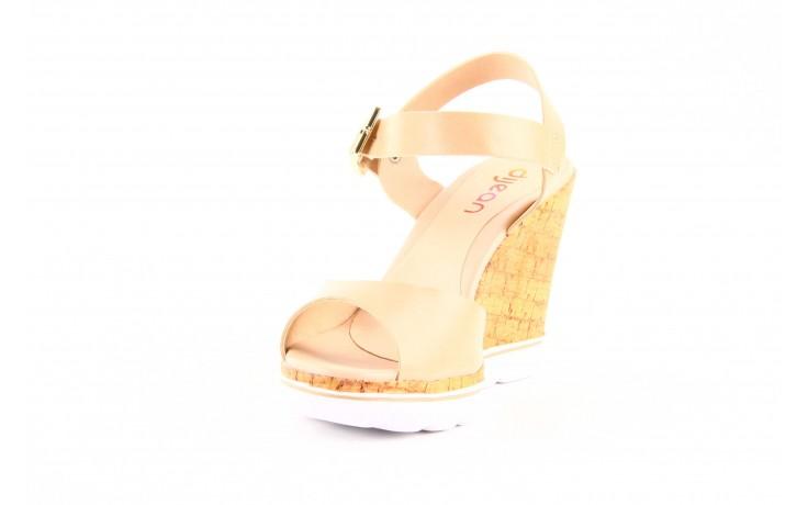 Sandały dijean 457 720 at. blush beige, beż, skóra ekologiczna  - dijean - nasze marki