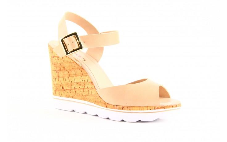 Sandały dijean 457 720 at. blush beige, beż, skóra ekologiczna  - dijean - nasze marki 3