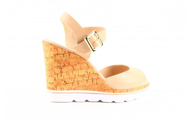 Sandały dijean 457 720 at. blush beige, beż, skóra ekologiczna  - dijean - nasze marki 5