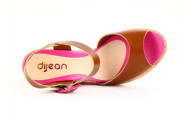 Sandały dijean 457 720 at. hazelnt mag, brąz, skóra naturalna - dijean - nasze marki 3