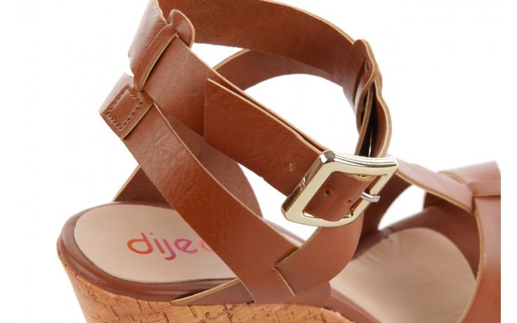 Sandały dijean 457 721 at. hazelnt, brąz, skóra naturalna  - dijean - nasze marki 6