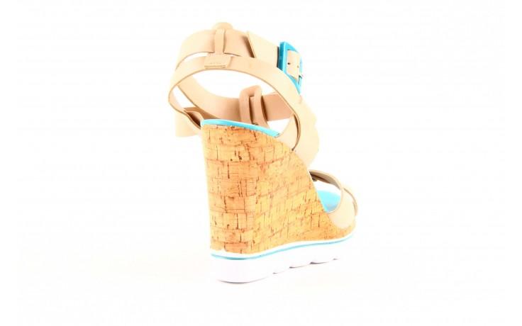 Sandały dijean 457 721 at. blush. bg oce, beż, skóra ekologiczna  - dijean - nasze marki 1