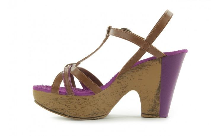 Sandały dijean 720 723 whisky/purple, brąz/fiolet, skóra ekologiczna - dijean - nasze marki 2
