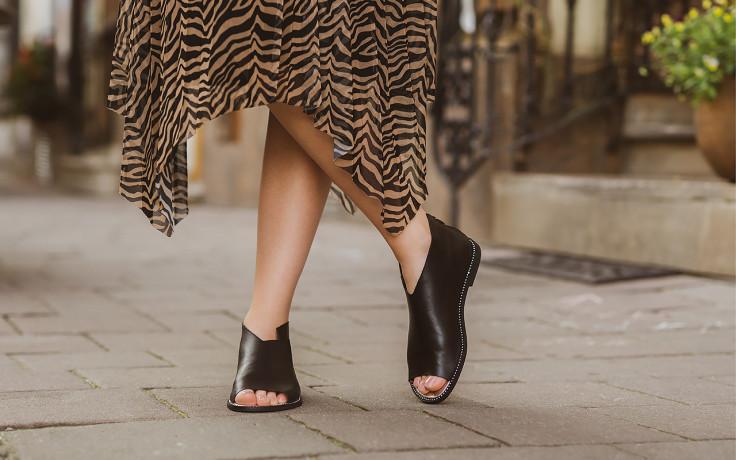Sandały bayla-194 9768 08 czarny 194008, skóra naturalna  - nowości 9