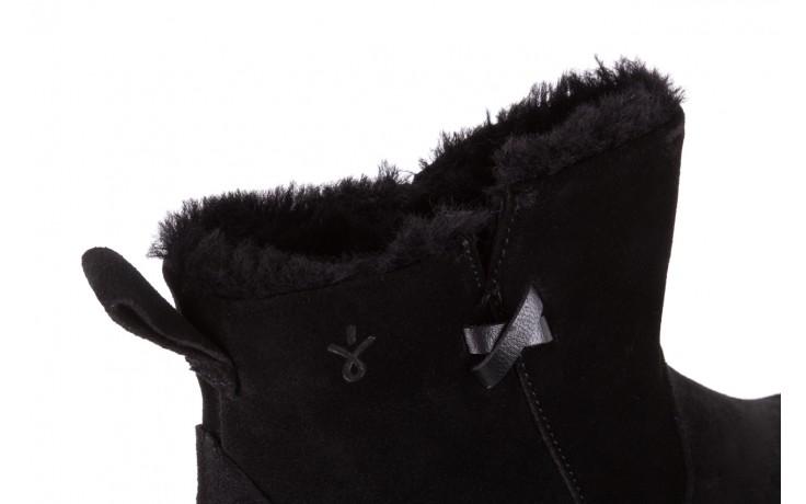 Śniegowce emu beach mini black 18, czarny, skóra naturalna  - emu - nasze marki 5