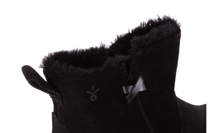 Śniegowce emu beach mini black 19, czarny, skóra naturalna  - śniegowce - śniegowce i kalosze - buty damskie - kobieta 5