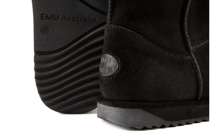 Śniegowce emu paterson lo black 16, czarny, skóra naturalna  - emu - nasze marki 5