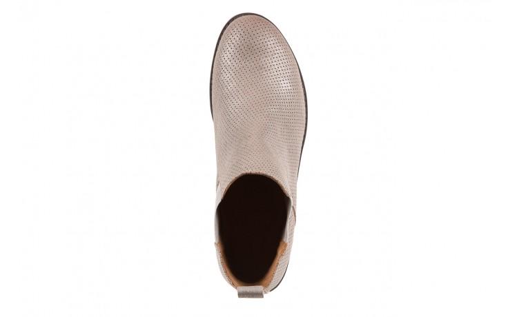 Sztyblety emu taria silver, srebrny, skóra naturalna  - sztyblety - botki - buty damskie - kobieta 5