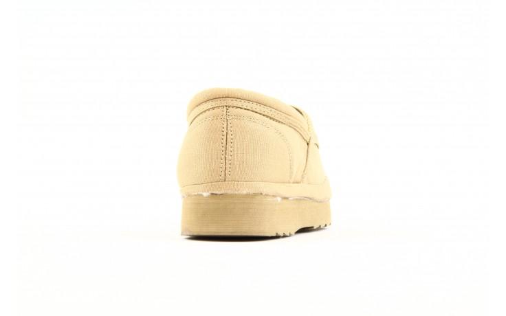 Półbuty fancy elastic beige, beż, materiał  - rock - nasze marki