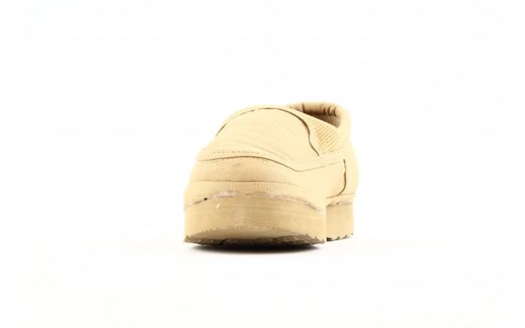 Półbuty fancy elastic beige, beż, materiał  - rock - nasze marki 4