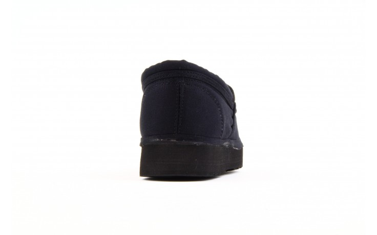 Półbuty fancy elastic black, czarny, materiał  - rock - nasze marki