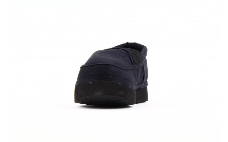 Półbuty fancy elastic black, czarny, materiał  - rock - nasze marki 1