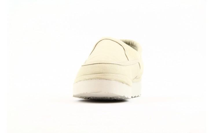 Półbuty fancy elastic ivory, beż, materiał  - rock - nasze marki 1