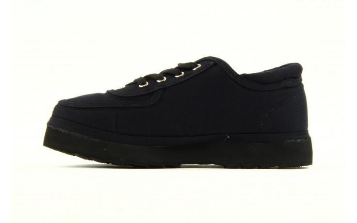 Półbuty fancy lace black, czarny, materiał 3