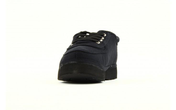 Półbuty fancy lace black, czarny, materiał 1