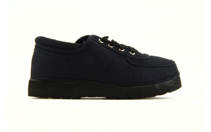 Półbuty fancy lace black, czarny, materiał 5