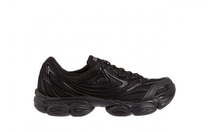Trampki olympikus force 414 black black, czarny, materiał/ guma  - azaleia - nasze marki