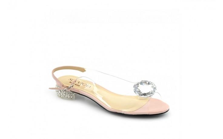 Baleriny sca'viola g-15 l-pink, róż, silikon  - sca`viola - nasze marki