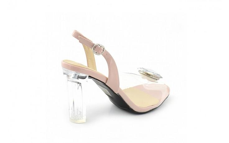 Sandały sca'viola g-17 l.pink, róż, silikon - sca`viola - nasze marki 1